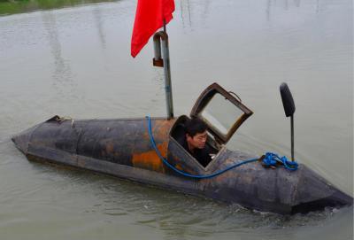 发明的新型潜水艇