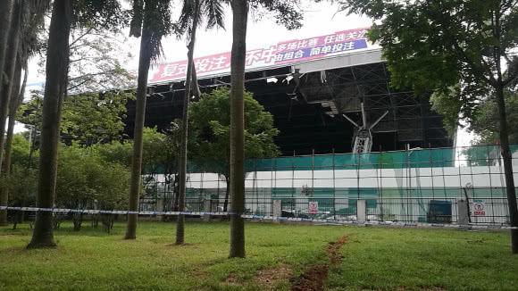深圳体育中心3死5伤坍塌事故