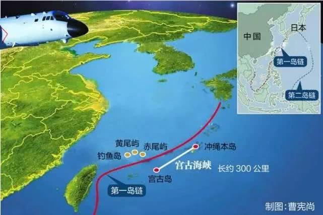 中国航母编队再出第一岛链!别急,会成常态的