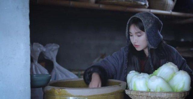 李子柒做的泡菜