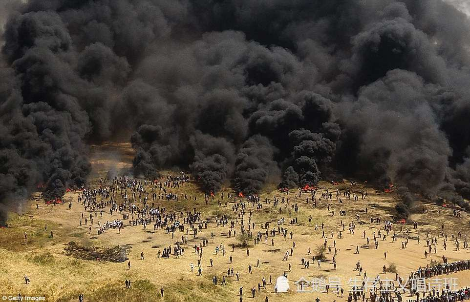 加沙以色列边境的血与火