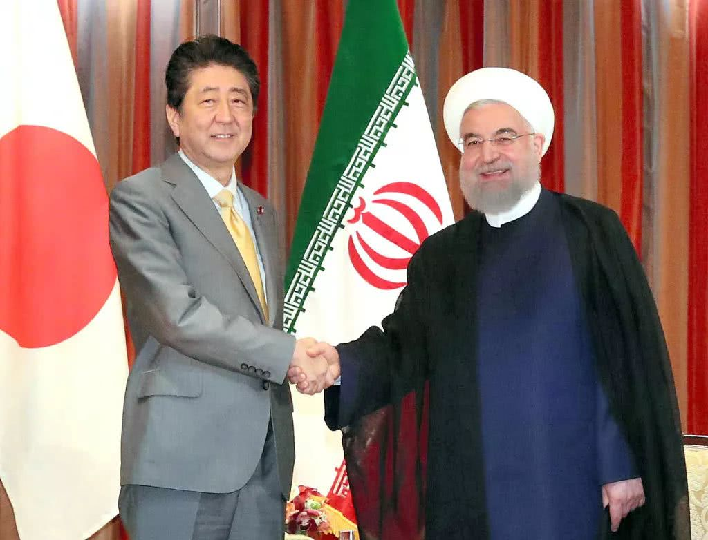 安倍访伊朗