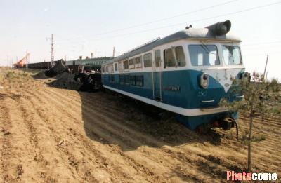 西班牙发生两列火车相撞事故
