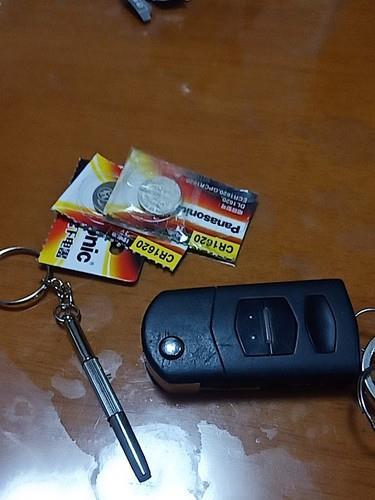松下汽车钥匙电池