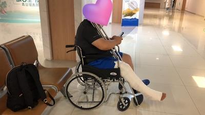 可孚折叠便携轮椅